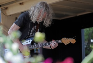 Alan Sparhawk at the Water Is Life concert in Duluth