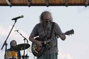 Charlie Parr at the Water Is Life concert in Duluth