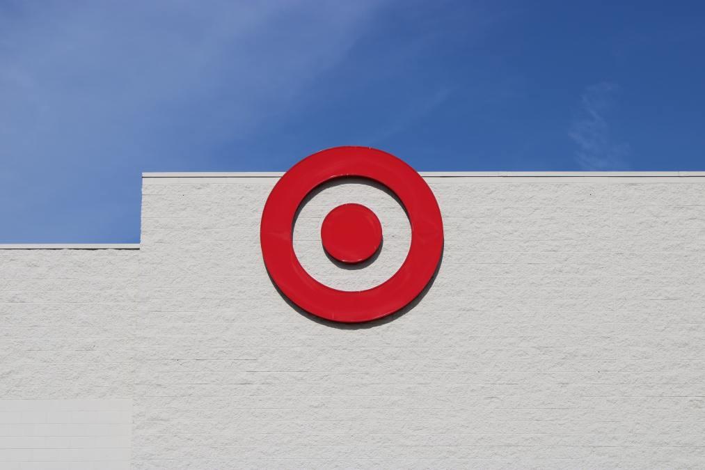 exterior shot of a target store